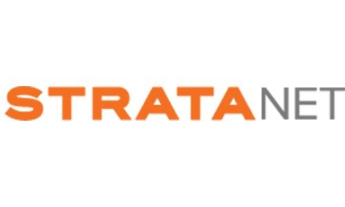 stratanet logo case study page