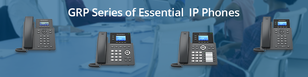 GRP Series of Essential IP Phones