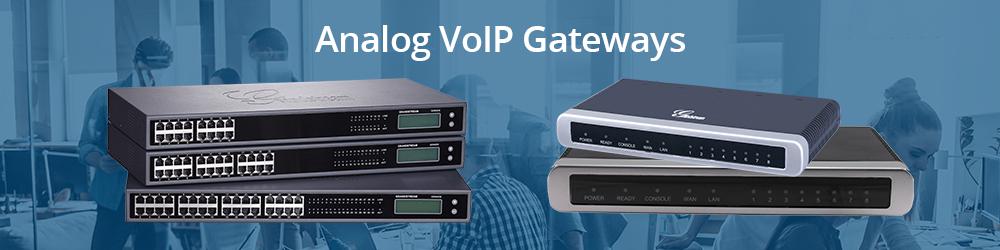 Analog VoIP Gateways